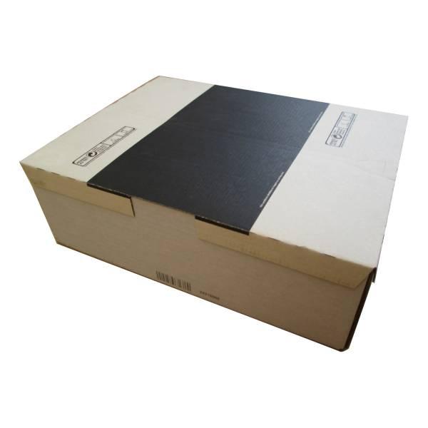 Boîte avec code-barre incrémenté