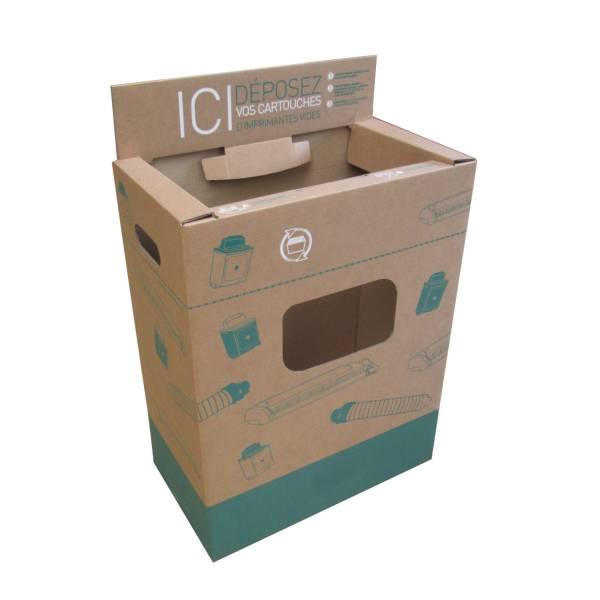 Bac de recyclage cartouche encre